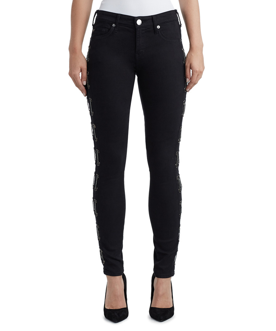 Halle Mid-Rise midnight skinny jeans Sale - true religion