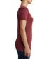 True Screen Print burgundy T-shirt Sale - true religion Sale