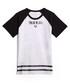 Boys' Branded monochrome cotton T-shirt Sale - true religion Sale