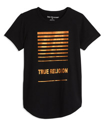 Boys' Box black pure cotton T-shirt
