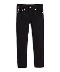 Girls' Halle SE black cotton jeans