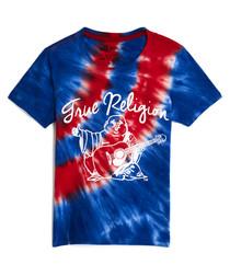Girls' Tie Dye Buddha cotton T-shirt
