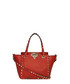 Red leather rockstud trapeze bag Sale - valentino Sale