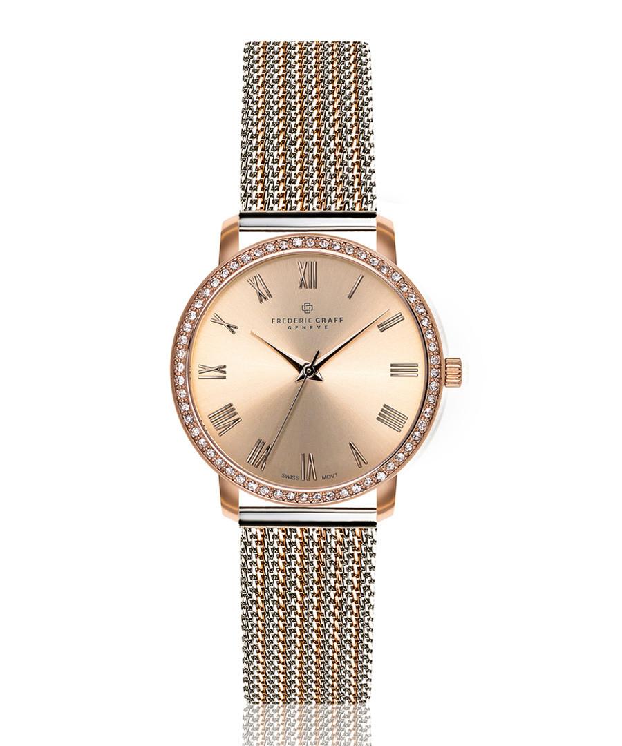 Ruinette dual-tone steel mesh watch Sale - frederic graff