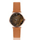 Mont Brule ginger leather watch Sale - frederic graff Sale