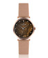 Mont Brule rose-gold tone mesh watch Sale - frederic graff Sale