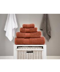 Bliss copper pure cotton bath sheet