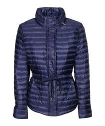 Navy lightweight padded jacket