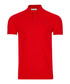 wax red pure cotton polo shirt Sale - versace collection Sale