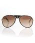 Black & brown aviator sunglasses Sale - Roberto Cavalli Sale