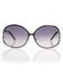 Gunmetal & grey oversized sunglasses Sale - Roberto Cavalli Sale
