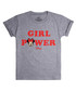 Girls' Girl Power grey T-shirt Sale - disney Sale