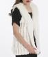 White faux fur gilet Sale - jayley Sale