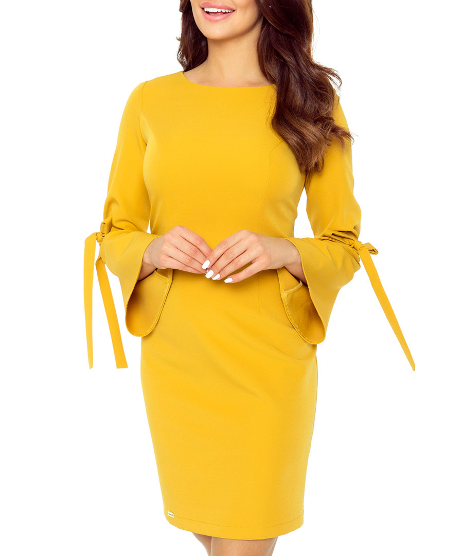 Honey bell sleeve mini dress Sale - bergamo