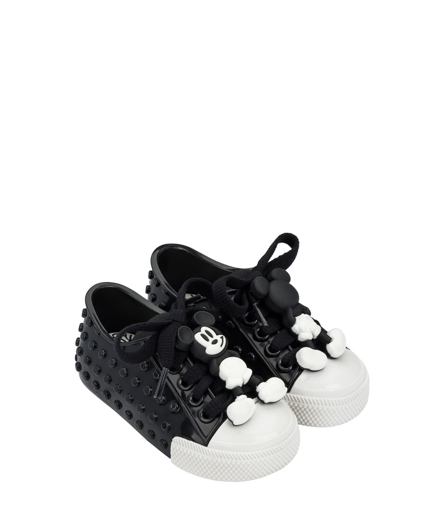 Girls' Black Mickey Mouse sneakers Sale - mini melissa