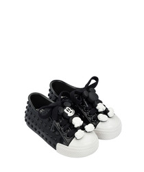 Girls' Black Mickey Mouse sneakers