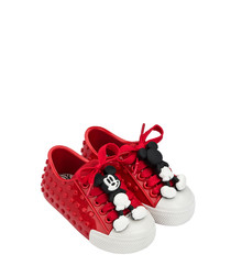 Girls' Red Mickey Mouse sneakers