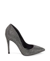 Daisie-R rhinestone court heels
