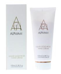 Alpha H liquid gold rose hand cream