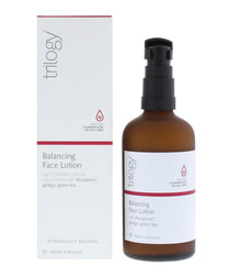 Balancing face lotion