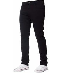 Men's Black Slim Fit Chinos