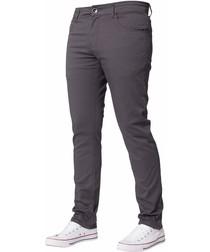 Men's Grey Slim Fit Chinos