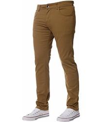 Men's Tan Slim Fit Chinos