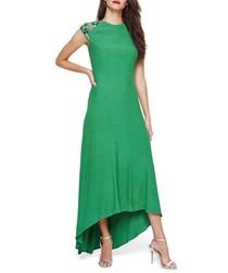 Deniz jade sleeveless maxi dress