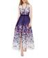 Catalina purple & white maxi dress Sale - damsel in a dress Sale
