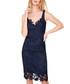Abella navy & black lace dress Sale - damsel in a dress Sale