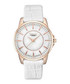 Gold-tone & white moc-croc leather watch Sale - gant Sale