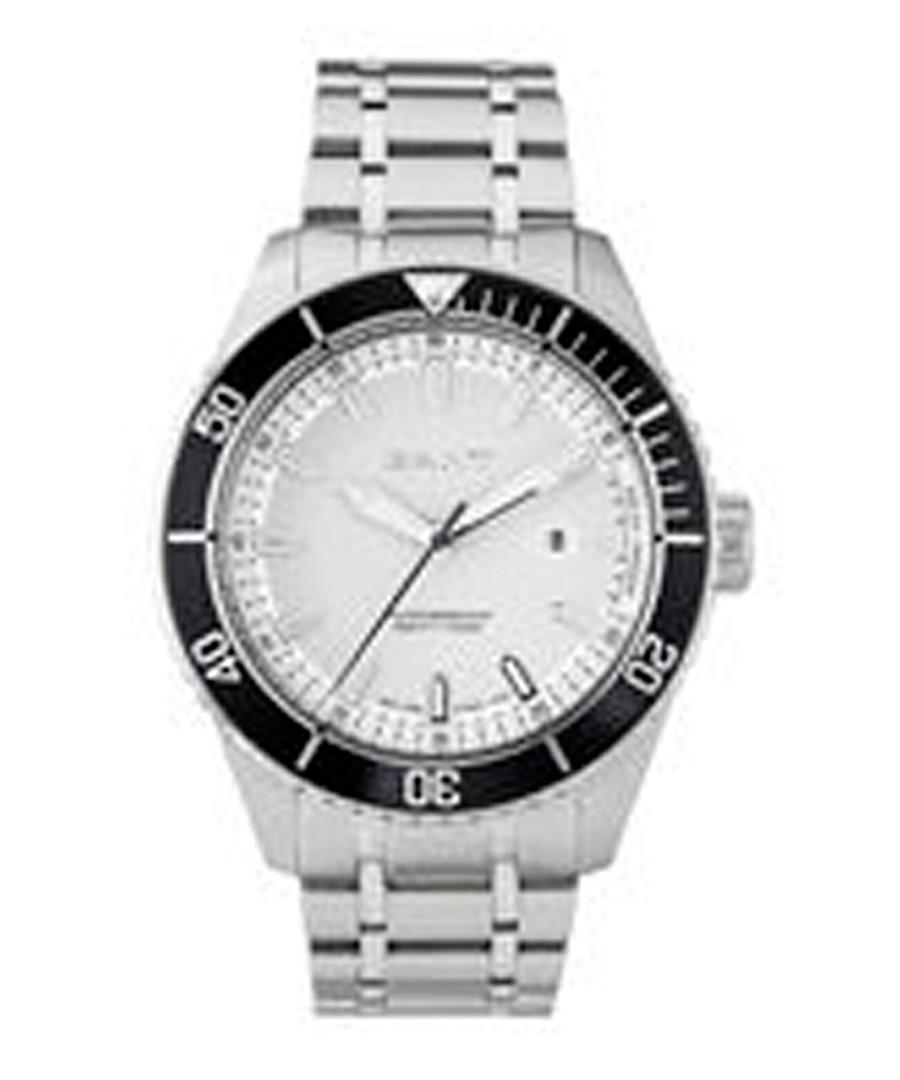Silver-tone link strap watch Sale - gant