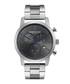 Silver-tone & black dial watch Sale - ken cole Sale