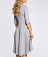 grey pleated Dress Sale - made of emotion Sale