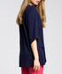 navy panelled blouse Sale - made of emotion Sale