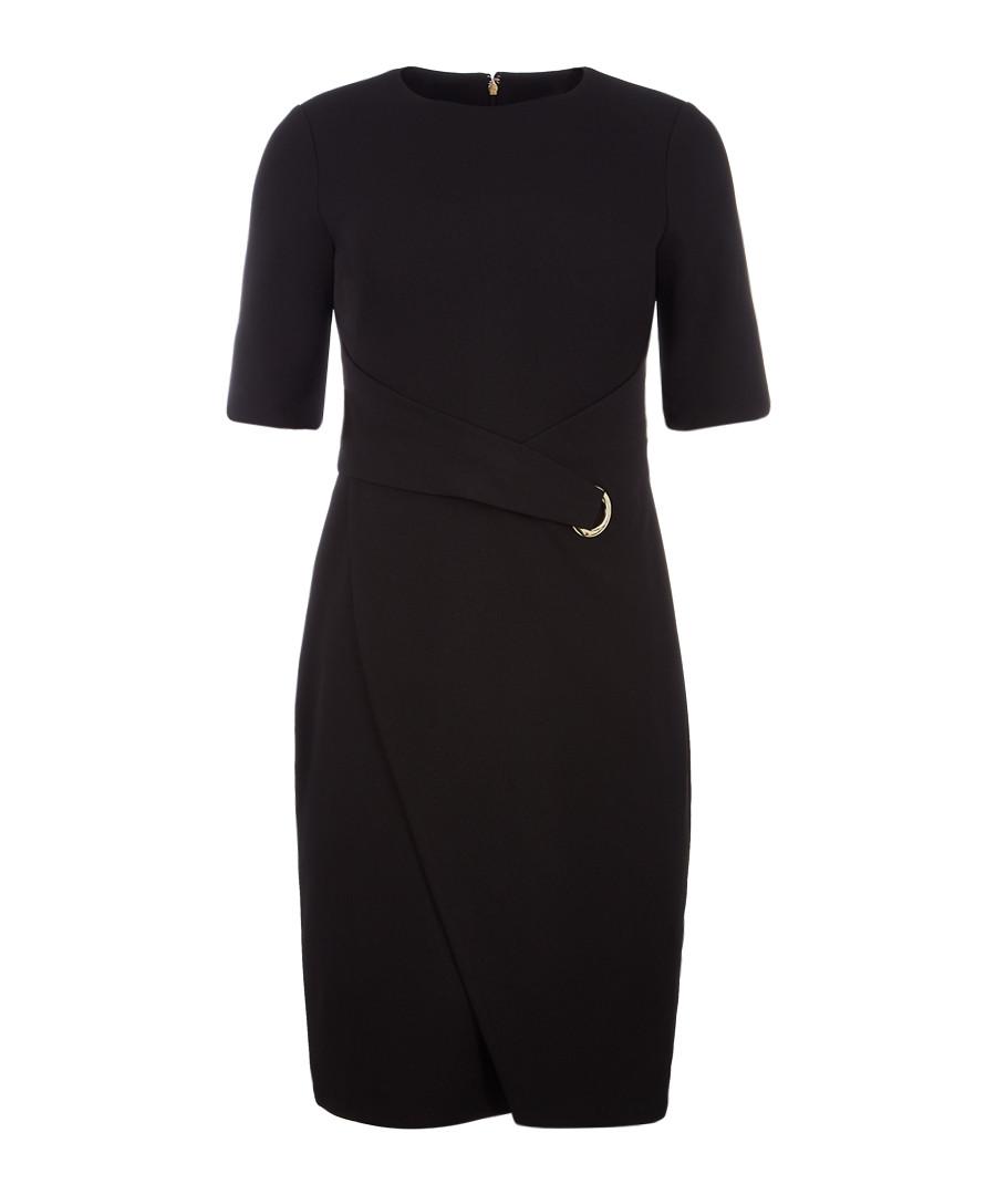 Black short sleeve dress Sale - dkny
