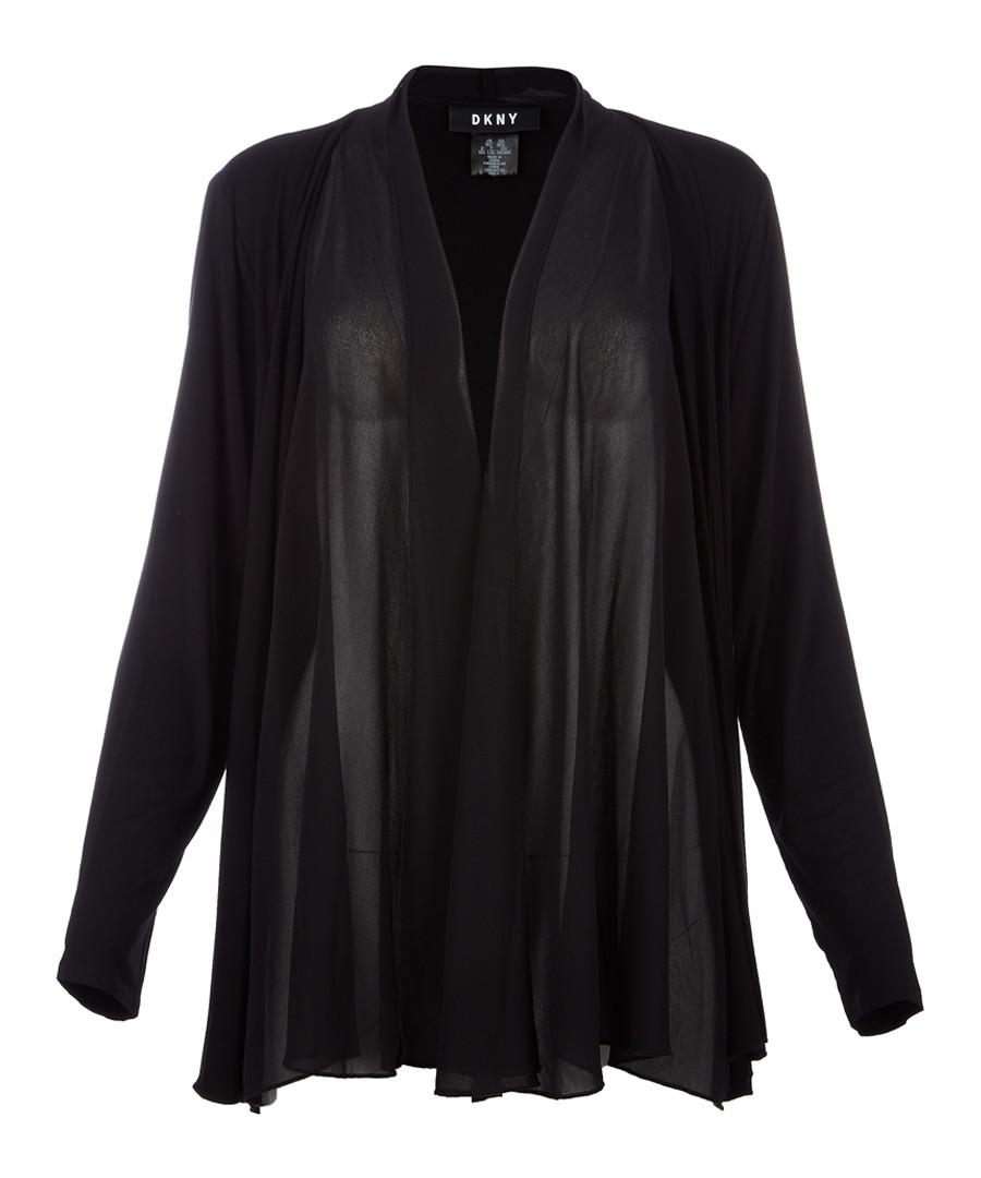 Black draped jacket Sale - dkny