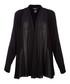 Black draped jacket Sale - dkny Sale