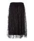 Black sheer-layer A-line sequin skirt Sale - dkny Sale