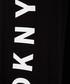 Black wide-leg joggers Sale - DKNY Sale