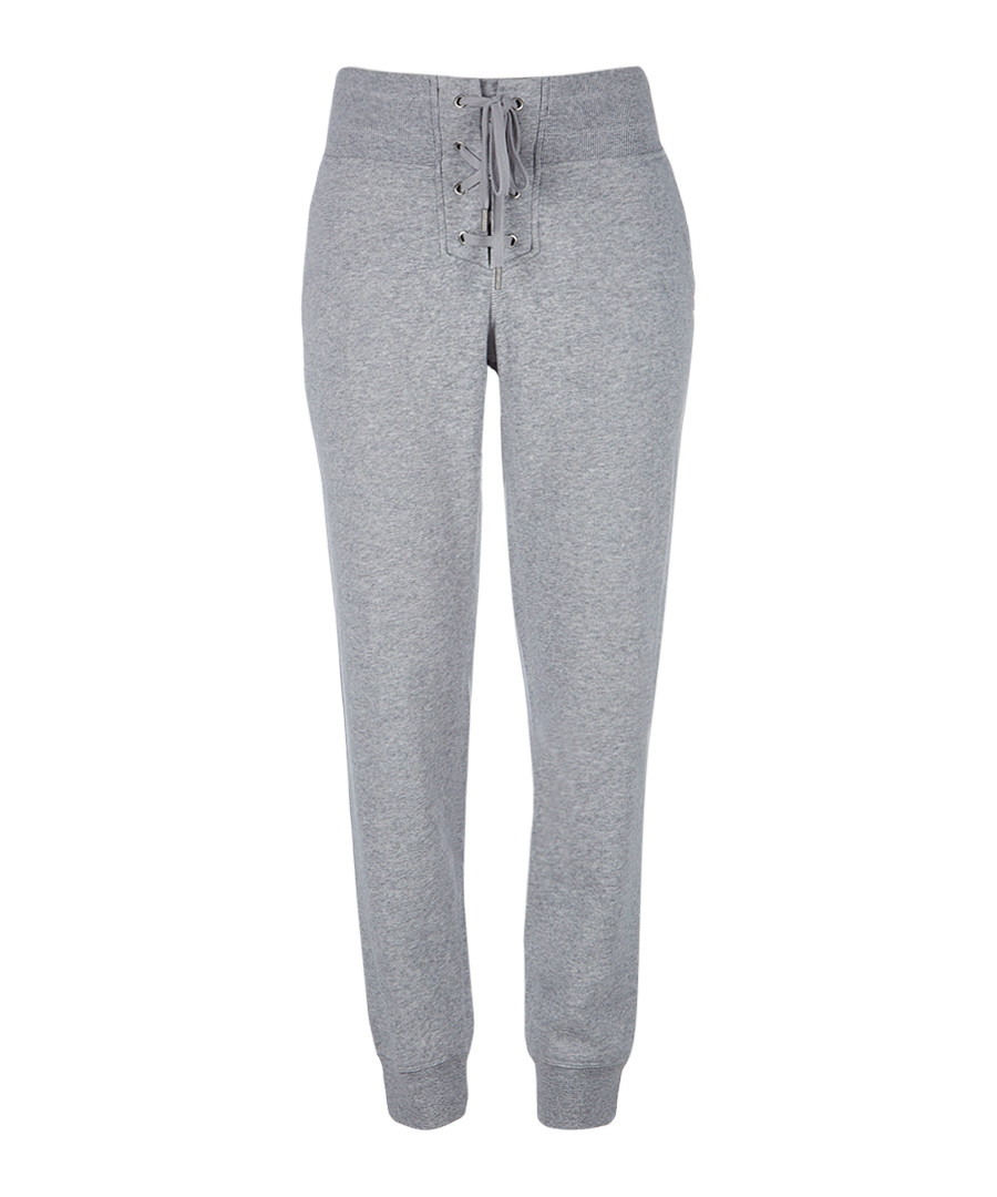 Cityscape grey cotton blend joggers  Sale - dkny