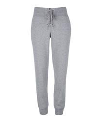 Cityscape grey cotton blend joggers