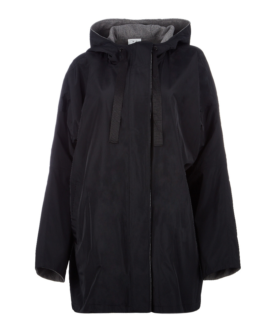 Black reversible drawstring jacket Sale - dkny