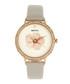 Delilah stone leather quartz watch Sale - bertha Sale