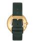 Ingrid gold-tone & green leather watch Sale - bertha Sale