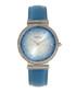 Allison blue leather watch Sale - bertha Sale