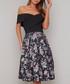 Justine floral off-shoulder Dress Sale - chi chi london Sale