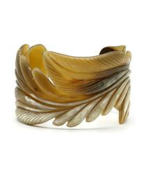 Buffalo horn caliber bracelet