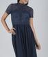 Carlee navy lace maxi dress Sale - chi chi london Sale