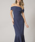 Chicago navy fluted dress Sale - chi chi london Sale